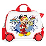 Disney Joy Valigia per Bambini, 41 centimeters, Multicolore (Multicolor)