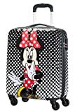 American Tourister Disney Legends - Spinner S Valigia per Bambini, S (55 cm - 36 L), Multicolore (Minnie Mouse Polka Dot)