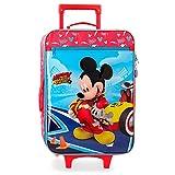 Disney Lets Roll Mickey Valigia per bambini 50 centimeters 28 Multicolore (Multicolor)