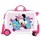 Disney Joy Trolley Cavalcabile per bambini, Multicolore, 34 L, 38x50x20cm