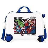 Valigia per bambini cavalcabile 2 ruote multidirezionali All Avengers