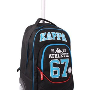 Seven Kappa 208001629-899 Zaino con Spallacci a Scomparsa, 30 litri, Poliestere, Multicolore