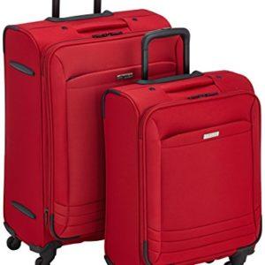 Clipper Set di valigie 309BO Rosso 67.0 liters