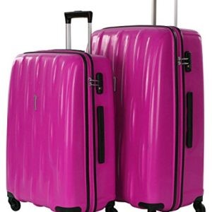 American Tourister by Samsonite Waverider valigia a 4 ruote (set di 2) lollipop pink