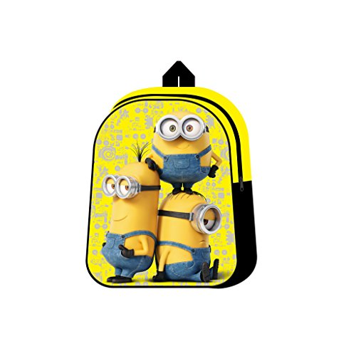 Fancy STT3205029HV – Minions Zainetto Asilo Giallo
