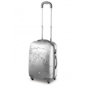 TROLLEY MEDIO 4 RUOTE RONCATO CIAK TO-DO – TSA – (SILVER)