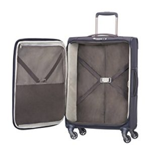Samsonite Uplite Spinner 67/24 Valigia Espandibile, Nylon, Blu, 79.5 ml, 67 cm