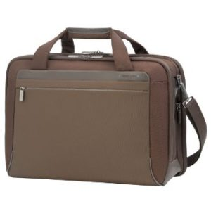 Samsonite Cartella Spectrolite Bailhandle L 17.3″ Espandibile, 29 liters Marrone (Tobacco)