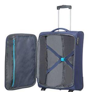 American Tourister Funshine Upright 55/20 Bagaglio a Mano, Poliestere, Orion Blue, 39 litri, 55 cm