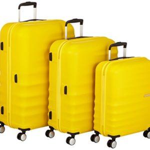 American Tourister Wavebreaker Set di 3 valigie, Giallo