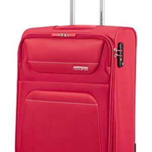 American Tourister Valigia, 55 cm, 40.2 litri, Rosso