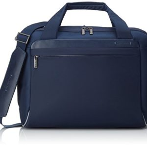 Samsonite Spectrolite Borsa Messenger M 16″ Espandibile, Nylon, Blu, 21.5 ml, 45 cm