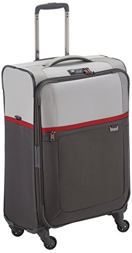 Samsonite Uplite Valigia, 67 Cm, 79,5 Litri, Pearl/Red/Grey