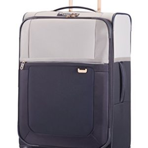 Samsonite Uplite Spinner 67/24 Valigia Espandibile, Nylon, Pearl/Blue, 79.5 ml, 67 cm