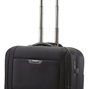 Samsonite Pro-Dlx 4 Garment Bag/Wh. Cabin Porta abiti, 55 cm, 32 L, Nero (Nero)