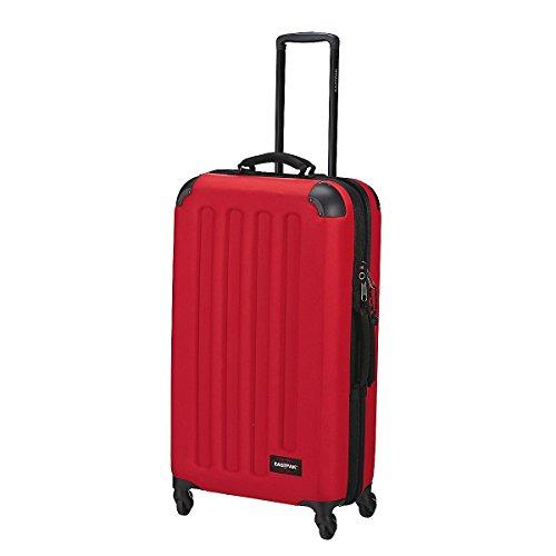 Eastpak Tranzshell – Valigia a 4 ruote, Rosso (Chuppachop Red), L (77 x 43 x 26.5 cm), 75 litri