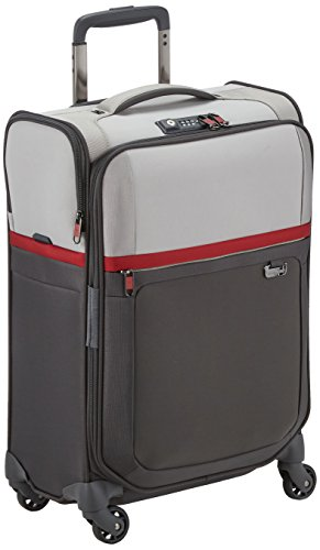 Samsonite Uplite Valigia, 55 Cm, 43,5 Litri, Pearl/Red/Grey