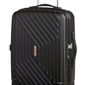 American Tourister Air Force 1 Spinner 55/20 Bagaglio a Mano, Policarbonato, Galaxy Black, 34 litri, 55 cm