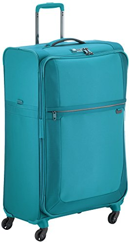 Samsonite Uplite Spinner 78/29 Valigia Espandibile, Nylon, Aqua Green, 122 ml, 78 cm