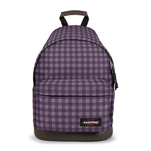 Eastpak Wyoming Zaino, 24 Litri, Viola (Checksange Purple), 40 cm
