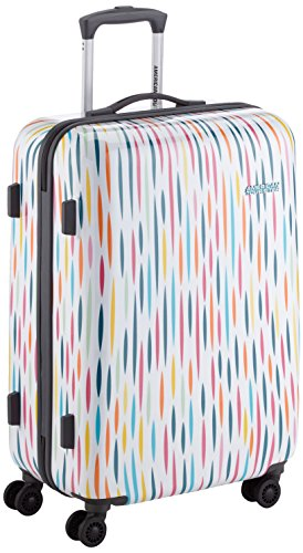 American Tourister Jazz 2.0 Spinner 67/24, 4 Ruote, 58,8 Litri, Stripes