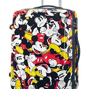 Samsonite American Tourister Disney Legends Spinner Valigia, 75 cm, 87 litri, Mickey Comics