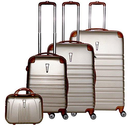 Dell , Set di valigie  Schampagner M L XL BEATY CASE