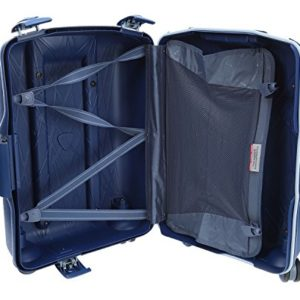 Roncato Light 4-Rollen-Trolley 68 cm, blu avio