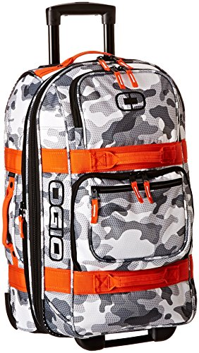 Ogio Layover Snow Camo/Orange