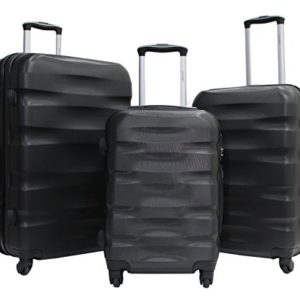 Set di 3 valigie -Trolley ALISTAIR Fly -55-65-75 cm – ABS ultra leggero – 4 ruote
