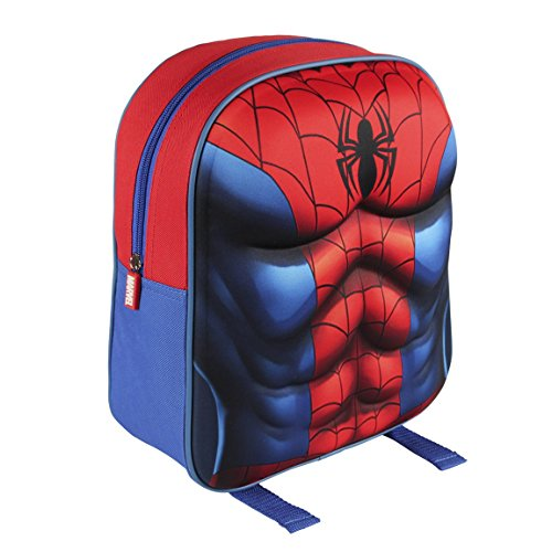 2100001565 31 cm Marvel Spiderman Tuta Effetto 3d Junior Zaino