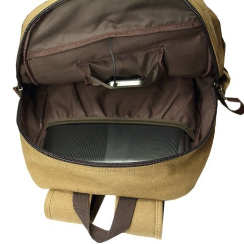 Attack on Titan Cosplay Backpack Shingeki No Kyojin School Bag Khaki